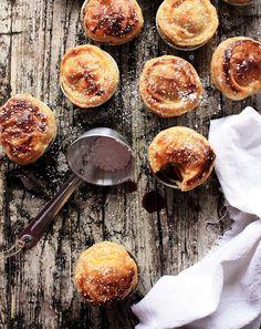 Tartes de maça aromáticas # Aromatic apple tarts - Fotografia de Mónica Pinto from http://pratos-e-travessas.blogspot.com