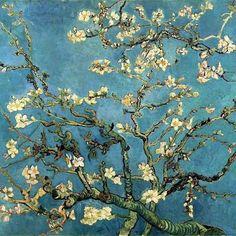 Almendro en Flor by Vincent Van Gogh