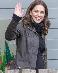 2017/11/29 22:56:02 fromberkshiretobuckingham The #DuchessofCambridge was at Robin Hood Primary School in London today to mark ten years of the Royal Horticultural Society campaign to get kids gardening. #DuchessKate wore a #Barbour jacket over her popular Honeycomb sweater from Temperley London. She paired that with soft, black skinnier and her Penelope Chilvers tassel boots. Kate did give some brief remarks, and you can hear those on the blog. Also, for those trying to keep up with all the…
