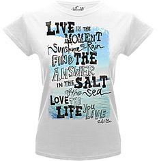 Sunshine Or Rain Tee Shirt - Junior's Short Sleeve Tees - Salt Life.  I so love this shirt and its quote.