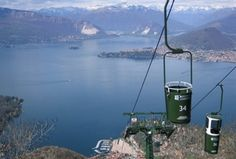 Funivie del Lago Maggiore, located at Laveno Mombello, is the charming bucket cable way which takes guests 1100m up towards the top of Sasso del Ferro.