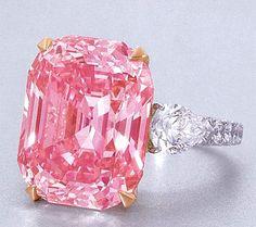 A Graff Pink diamond ring