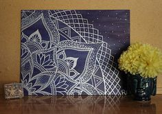 Check out this item in my Etsy shop https://www.etsy.com/listing/455267160/mandala-painting-wall-art-meditation