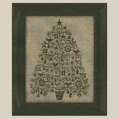 Primitive Cross Stitch Pattern