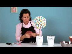 Have a Nice Cake - YouTube - Cómo hacer un árbol de nubes.