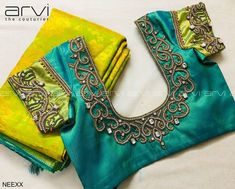 Check out this brand that has the most beautiful collection of bridal blouse designs espically for kanjivaram silk sarees. Blouse Back Neck Designs, Cutwork Blouse Designs, Hand Work Blouse Design, Wedding Saree Blouse Designs, Pattu Saree Blouse Designs, Simple Blouse Designs, Stylish Blouse Design, Latest Saree Blouse Designs, Aari Work Blouse