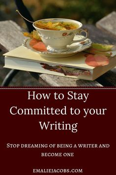 Staying committed to the writing process requires hard work and dedication. The best practices to stay comitted to your project are (read more. Writing Images, Writing Quotes, Fiction Writing, Writing Advice, Writing Resources, Writing Help, Writing Skills, Writing A Book, Writing Ideas