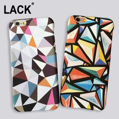 Abstract Triangle Case For iPhone 5S Case Fashion Geometric Graphic Pattern Cover for iPhone 5 6 6S Plus Phone Cases Coque Funda