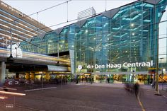 Nieuw Den Haag Centraal is heldere ov-terminal Transport Hub, Metro Subway, The Hague, Central Station, Metro Station, Modern City, Architecture Art, Netherlands, Amsterdam