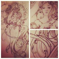Mermaid Tattoo.