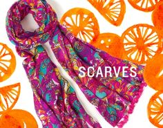 Lilly Pulitzer Murfee Scarf in Sea and Be Seen