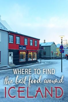 Best Food in Reykjavik