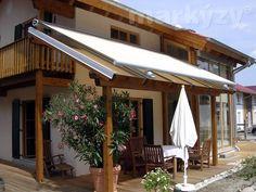 Venkovní markýza pro zimní zahradu, kde nelze použít standardní markýza [Maxilux] Outdoor Structures, Outdoor Decor, Home Decor, Decoration Home, Room Decor, Home Interior Design, Home Decoration, Interior Design