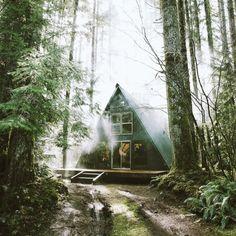 whiskandwhittle.com / A frame / The Green Life <3