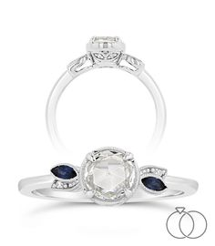 083e6e8130516 Update a classic solitaire diamond engagement ring with handcrafted ...