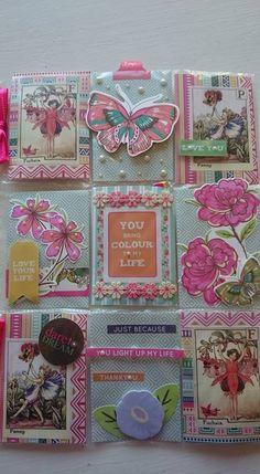 Flower butterfly fairy Pocket Letter