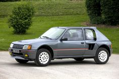 Peugeot 205 T16 - The car that taught Audi a lesson or two about rally racing in the 80s before the end of Group B.