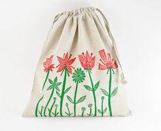 block printed bag (etsy)