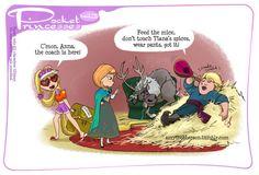 Pocket Princesses No 143: House Minding!