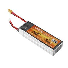 FLOUREON 4S 148V 4500mAh 35C LiPolymer Battery Pack with XT60 Plug for RC Airplane RC Helicopter RC CarTruck RC Boat