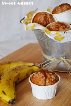 MUFFINS DE PLATANO | Cocina