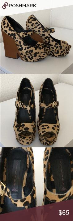 020cac2f97b Steven by Steve Madden Leopard Knockout Pumps