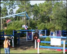 HorseNation - A Patriotic Obstacle because America