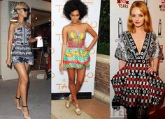 "HOLLYWOOD CELEBRITIES ROCKING AFRICAN ""Ankara"" PRINTS 