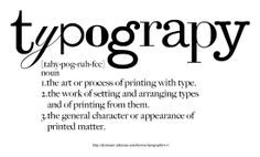typography #definition #typography #type
