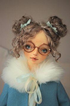 Подвижная кукла Адель/Boudoir doll Adel
