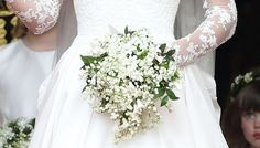 Liljekonvalj vit brudbukett wedding flowers white