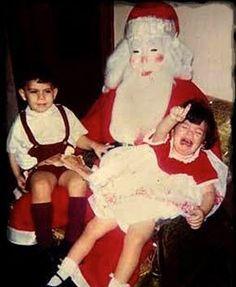 Creepy & Scary Mall Santas