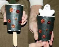 Halloween Ghost Crafts for Toddlers, halloween crafts for kids to keep them entertained all month. Spooky halloween crafts for children Dulceros Halloween, Halloween Infantil, Moldes Halloween, Manualidades Halloween, Toddler Halloween, Halloween Crafts For Kids, Halloween Activities, Holidays Halloween, Halloween Themes