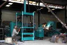 Hydraulic Press Machine - Super Sonic Mch