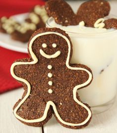 Soft and Chewy Grain- and Gluten-free Gingerbread Men by texanerin