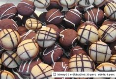 Hungarian Desserts, Winter Food, Muffin, Biscuits, Recipies, Food And Drink, Eggs, Cookies, Baking
