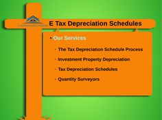 E Tax Depreciation Schedules is a fancy reveal for a document that tells your accountant how much depreciation to allegation upon your property.