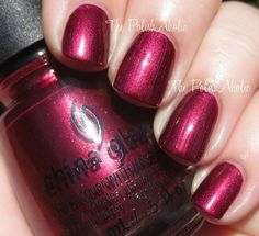 """China Glaze - """"Define Good"""", Holiday 2014 Twinkle Collection 