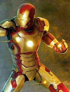 Iron Man 3 Armor Art