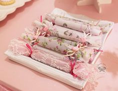 Pretty favors at a fairy shabby chic birthday party! See more party ideas at CatchMyParty.com!
