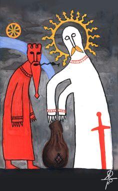 "#Perun, #Veles, #slavic_gods, #mythology ""Earth's Gravity"" http://vesemir.blogspot.ru/2012/05/blog-post_19.html"