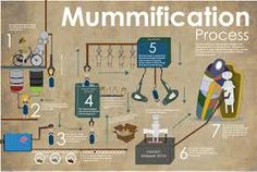 The process of mummification in Ancient Egypt Egyptian Crafts, Egyptian Mummies, School Projects, Projects For Kids, School Ideas, Ancient Egypt, Ancient History, Mummification Process, Egypt Mummy