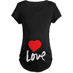 Cafepress Maternity Love Graphic Tee