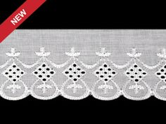 Broderie Anglaise Madeira Lace width 80 mm