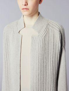 Split neck detail cardigan, Max Mara