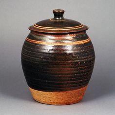 NORA BRADEN    Lidded Jar, circa 1935