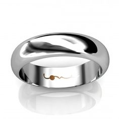 I dont think this as a plain wedding band. i think its quite distintive, but not overly glamouised. its stylsih, and classic shaped. It can be worn by both males and females. Lovesong 5 is part of the Lovesong collection, in 3, 5 and 7mm widths.