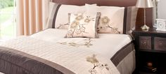 Chocolate Taipei Bedlinen Collection    #dunelm #pinittowinit