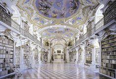 Admont Abbey Library,Austria (Europa)
