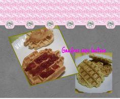 Sans Lactose, Waffles, Breakfast, Desserts, Blog, Belgian Waffle Iron, Healthy Nutrition, Greedy People, Eat